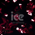 Ice Cannons Product Packaging Red Foil Confetti