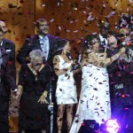 Ice Cannons VIP Celebrities Usher and Stevie Wonder Awards Confetti