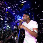Ice Cannons VIP Celebrities Ginuwine Confetti Shower Chateau Las Vegas