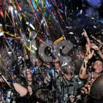Ice Cannons Events NYE New Years Eve Celebration Confetti