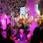 Ice Cannons nightclubs Bars Restaurants Confetti Sparklers Cannes France