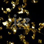 Ice Cannons Product Packaging Gold Foil Confetti