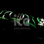 Ice Cannons Product Packaging Green Confetti Cannon Laying Down