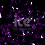Ice Cannons Product Packaging Purple Foil Confetti