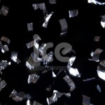 Ice Cannons Product Packaging Silver Foil Confetti